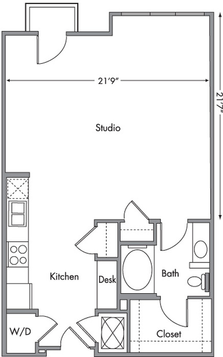 Chicago Floor Plan Image